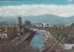 RIO MAPOCHO, SANTIAGO.  CIRCA 1970S - CHILE/CHILI - BLEUP - Chili