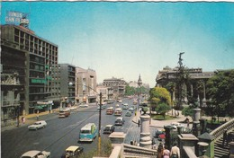 ALAMEDA BERNARDO O'HIGGINS. CIRCA 1970S -  SANTIAGO, CHILE/CHILI - BLEUP - Chili