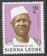 Sierra Leone. 1972 President Siaka Stevens. 2c MNH. SG 577 - Sierra Leone (1961-...)