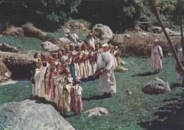 MAROC---MONTAGNES DE L'ATLAS AU MAROC--fêtes Du Printemps--voir 2 Scans - Maroc
