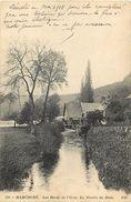 - Calvados -ref-F589- Harcourt - Moulin A Eau Du Hom - Moulins A Eau - Demoli En Mai 1918 - Carte Bon Etat - - Autres Communes
