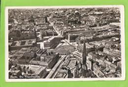 Luftbild-Foto-AK - Berlin - Der Alexanderplatz - Gelaufen Am 9.12.1936 - Mitte