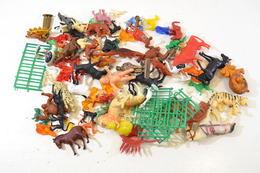 Lot De Figurines Années 1960 - 1970, Animaux, Goulet Turpin, Cibon ... - Figurines