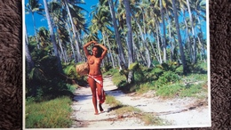 CPM FEMME AUX SEINS NUS BEAUTE HAWAIENNE ? GIRLS OF THE SOTH SEAS SYLVAIN TEVA - Pin-Ups