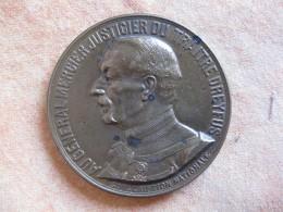 MEDAILLE GENERAL MERCIER. AFFAIRE DREYFUS .13 JUILLET 1906 Par J.BAFFIER - Francia
