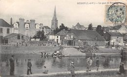 REDON - Le Quai De Brest - Redon