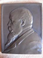 Médaille/ Plaque De 1908 ALFRED MASCURAUD SENATEUR De SEINE Par M. FAVRE - Non Classificati