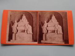 FIRENZE Monumento A Dante : Stefano RICCI (3137) Stereo Photo G. BROGI Firenze Napoli ( Voir Photo Pour Detail ) ! - Photos Stéréoscopiques