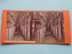 MILANO Interno Della Cattedrale (3827) Stereo Photo G. BROGI Firenze Napoli ( Voir Photo Pour Detail ) ! - Photos Stéréoscopiques