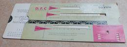 Règle à Calcul  De 1960  - OMARO -  Ronds Pour Béton Armé - DAVUN  Ateliers D' Armatures -  Plancher DFC -  Woippy - Sonstige