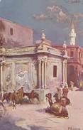 LA FONTANA DELL'ACQUA DI BUMELIANA CIRCA 1920S - TRIPOLI, LIBYA - BLEUP - Libië
