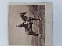 PRACHTIGE FOTO 1863  ORGINELE  GENOMEN DOOR  FOTOGRAAF VAN DE KONING Afmetingen 10 Cm Op 10 Cm - Photos