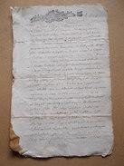 CACHET GENERALITE BORDEAUX XVII 1690 Mariage Familles Moquet Mauget BROSSAC Charente 1679 - Cachets Généralité