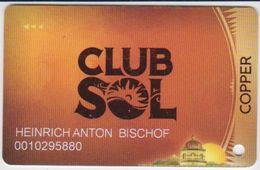 CASINO CARD - 290 - USA - CLUB SOL - Casino Cards