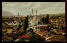 B3875 BOSNIA - SARAJEVO - GENERAL VIEW WITH THE MOSQUE - Bosnia Erzegovina