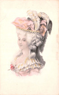 CPA Fantaisie - Illustration - Jolie Jeune Femme Portrait - Femmes