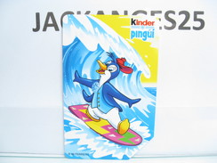 KINDER PINGUI CARTE DE TELEPHONE  N° 3 ITALIE FERRERO 1999 - Kinder & Diddl