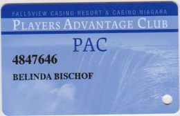 CASINO CARD - 318 - USA - FALLSVIEW CASINO - Casino Cards