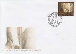 Enveloppe  1er  Jour   LETTONIE   EUROPA   2003 - Europa-CEPT