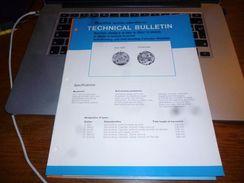 Folder Technique Horlogerie Montre Bulova Bienne Calibers 12 EBA 12 EBACD ECAD ECACD - Bijoux & Horlogerie