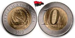 Angola - 10 Kwanzas 2012 (UNC) - Angola