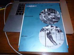Folder Technique Pub Horlogerie Montre Lemania Compteurs Sportif Et Industrie Chronographe  16p Lugrin Orient - Bijoux & Horlogerie