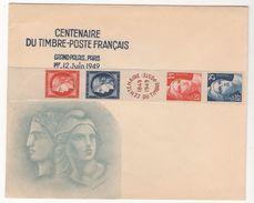 LETTRE DE 1949 CITEX-PARIS 1949 - France