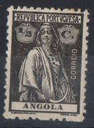 Angola 1914 - Cerere Ceres MH * - Angola