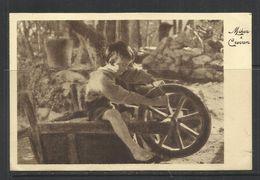 COLONIE ITALIANE ERITREA 2 8 1936 SERIE 10/523 BY MIKAR & CREVAN AFFRANCATA VIAGGIATA CARTOLINA POST CARD - Eritrea