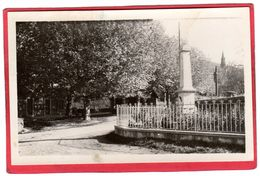 CPSM 38 CHOZEAU Mairie Et Monument C/ CHARVIEU CHAVAGNEUX   * Format CPA - Autres Communes