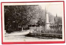 CPSM 38 CHOZEAU Mairie Et Monument C/ CHARVIEU CHAVAGNEUX   * Format CPA - Other Municipalities