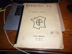 Rare Ebauches De Montres Parrenin SA Calibres II 1/2 60 A Et G Villers Le Lac Horlogerie - Bijoux & Horlogerie
