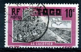 Togo, Coconut Tree, 10c., 1924, VFU - Gebraucht