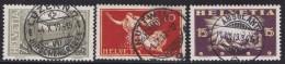 Suisse     .    Yvert   .     170/172       .    O     .          Oblitéré - Schweiz