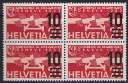 Suisse  .    Yvert    PA  21    Bloc De 4   .    **       .   Neuf   SANS  Charniere  .  /   .    MNH - Luftpost