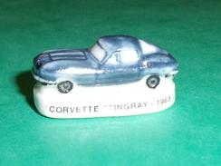 Fèves / Sports : Voiture, Corvette Stingray - 1963   T54 - Sports