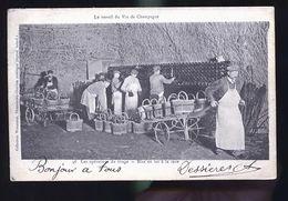 LE TRAVAIL DU VIN DE CHAMPAGNE 1900 DAMERY - France