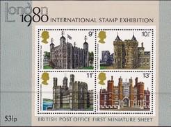 Großbritannien 1980/88, Block-Ausgaben - Gebraucht