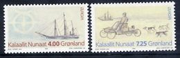 GREENLAND 1994 Europa: Discoveries MNH / **.  Michel 247-48 - Greenland