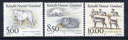 GREENLAND 1993 Mammals I MNH / **.  Michel 239-41 - Greenland