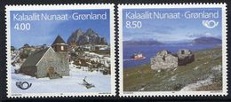 GREENLAND 1993 Nordic Countries: Tourism MNH / **.  Michel 234-35 - Greenland
