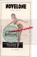LINGERIE -CORSETERIE- RARE BUVARD NOVELONE- BAS PORTE JARRETELLES -CORSET- GUEPIERE VINTAGE - Buvards, Protège-cahiers Illustrés
