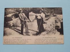 Le PARISIEN - Le MARSEILLAIS - Anno 1925 ( Details Zie Foto's ) ! - Europe