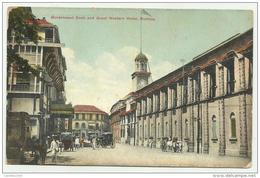 BOMBAY GOVERNMENT DOOK AND GREAT WESTERN HOTEL 1918 NON VIAGG. FP - India
