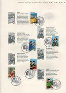 FRANCE Bloc 109 + Série FDC 1er Jour  Encart A4 2007 TINTIN KUIFJE HERGE Paris : Les Voyages De Tintin Collector - Comics