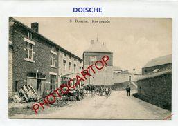 DOISCHE-Rue Grande-Cultivateur-Periode Guerre-14-18-1 WK-BELGIEN-BELGIQUE-Feldpost 1914- - Doische