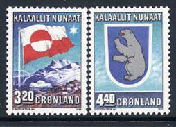 GREENLAND 1989 Internal Autonomy MNH / **.   Michel 195-96 - Greenland