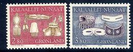 GREENLAND 1987 Historic Artefacts II MNH / **.   Michel 174-75 - Greenland