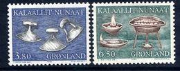 GREENLAND 1986 Historic Artefacts I MNH / **.   Michel 165-66 - Greenland