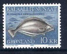 GREENLAND 1985 Greenland Halibut MNH / **.   Michel 162 - Greenland
